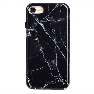 Black Marble iPhone 📱 7/8 Case
